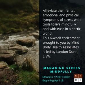 managing stress mindfully