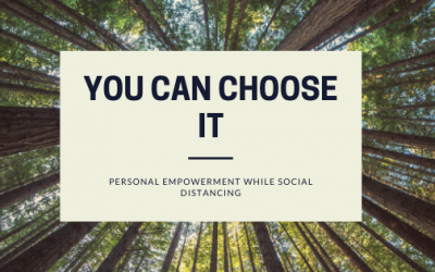The power of choice in social distancing